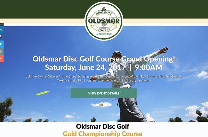 Oldsmar Disc Golf